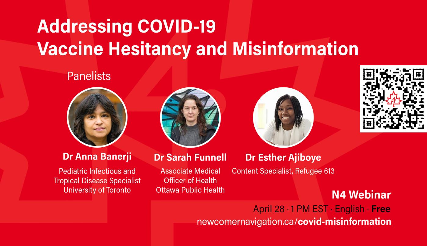 Upcoming N4 Webinar: Addressing COVID-19 Vaccine Hesitancy and Misinformation