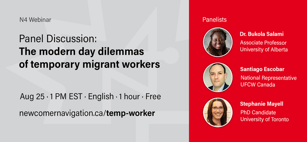 Upcoming Webinar: Panel Discussion - The modern day dilemmas of temporary migrant workers