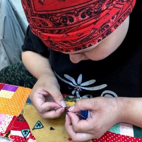 Native artist