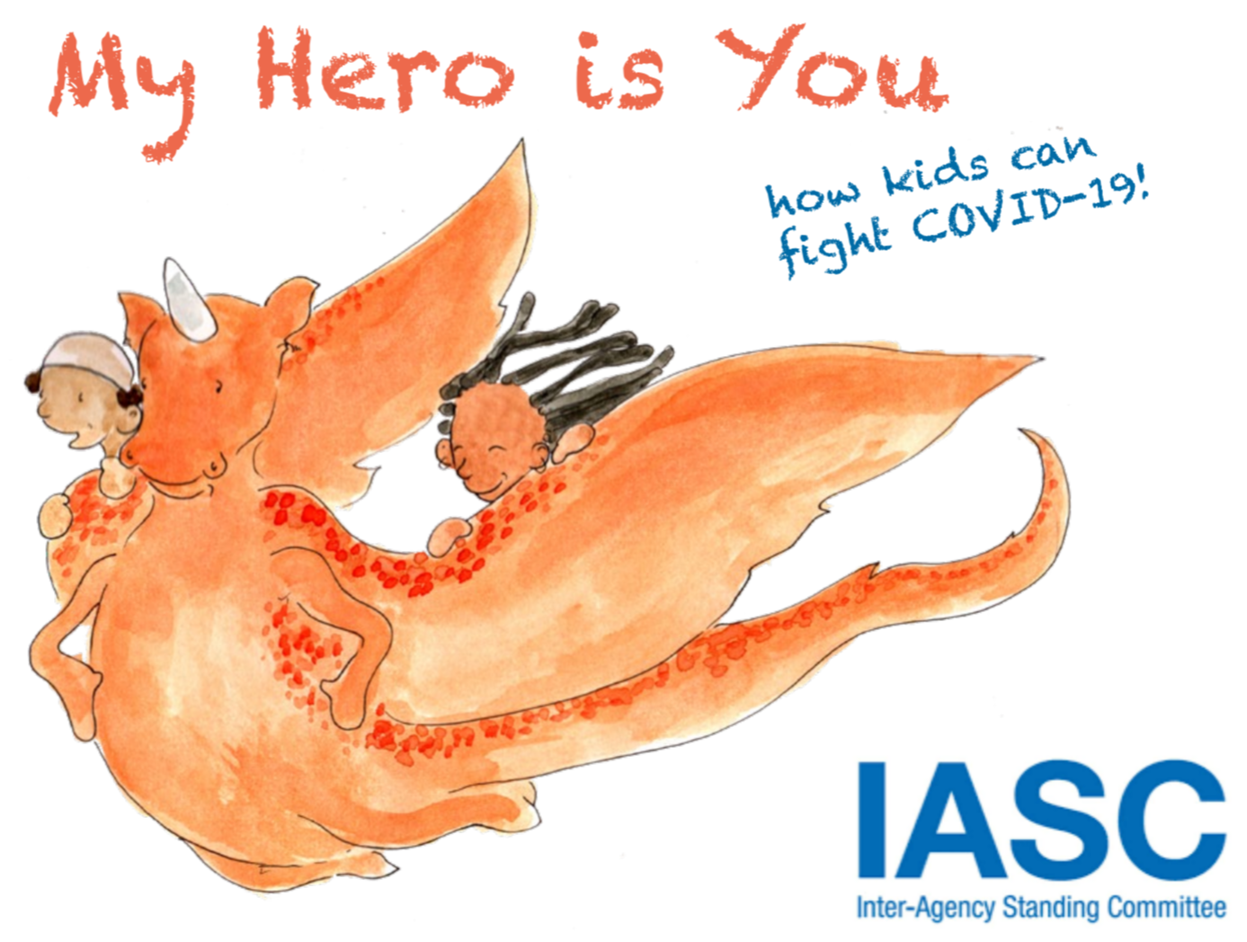 My Hero is You: How Kids Can Fight COVID-19